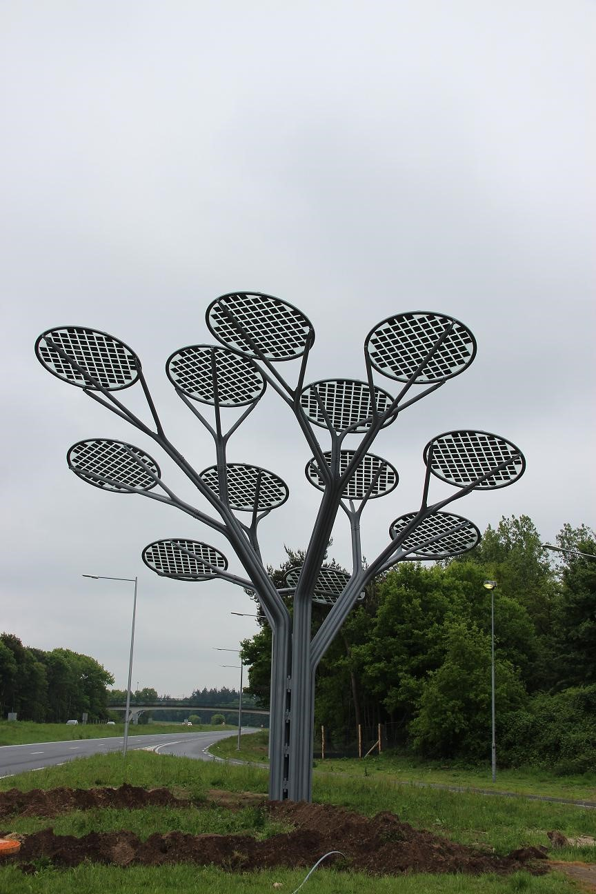 Clearshield chosen to protect solar panel tree in the carbon neutral avenue named road of the future which lies in between oss and berghem is an incredible new solar structure designed to fit in with sciox Image collections