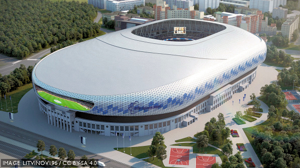 VTB Arena, Moscow, Russia