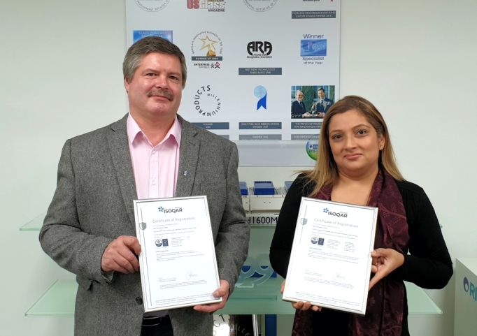 Ritec Recertified to ISO9001:2015 and ISO14001:2015
